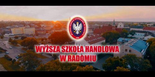 Spot reklamowy Wyższa Szkoła Handlowa w Radomiu 2017